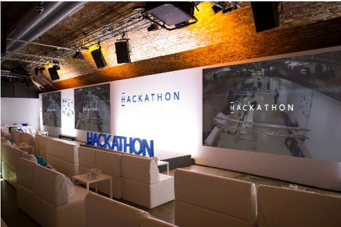 Hackathon stage is set